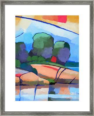 Seascape IIi Framed Print by Lutz Baar