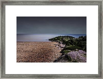Seascape Framed Print by Martin Newman