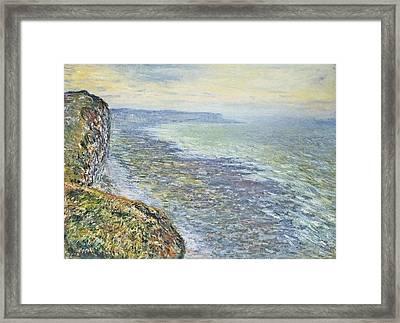 Seascape Near Fecamp Framed Print