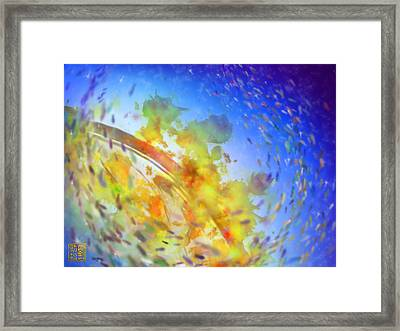 Seascape No. 1 Framed Print