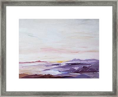 Seascape Nr 1 Framed Print by Carola Ann-Margret Forsberg