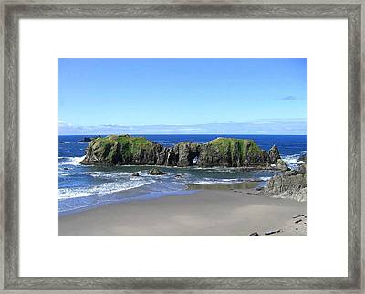 Seascape Supreme Framed Print by Will Borden