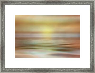Seascape Framed Print by Tom Mc Nemar