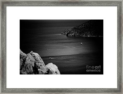 Seascape Turkey Artmif Framed Print by Raimond Klavins