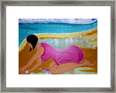 Seashells Framed Print