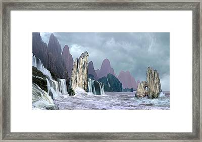 Seashore 1 Framed Print by Valeriy Mavlo