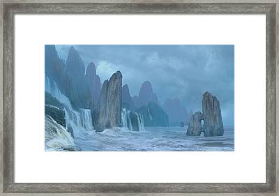 Seashore 2 Framed Print by Valeriy Mavlo