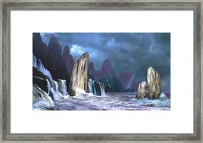 Seashore 3 Framed Print by Valeriy Mavlo