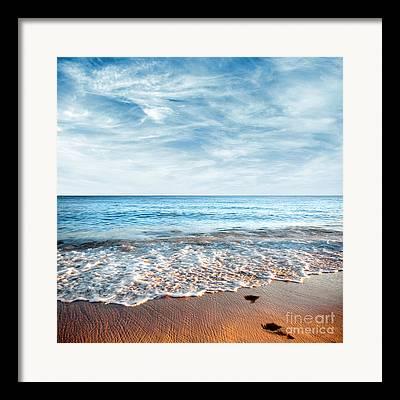 Shore Photographs Framed Prints
