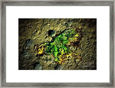 Seaside Angel Framed Print by Venetta Archer