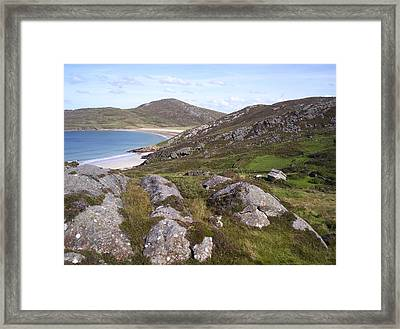 Seaside Farm Framed Print