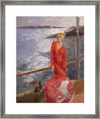 sold Seaside Interest Framed Print
