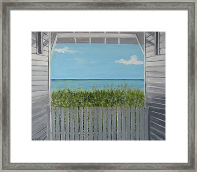 Seaside Framed Print by John Terry
