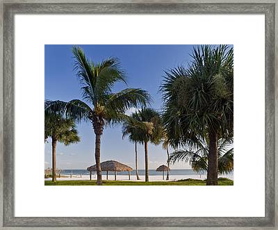Seaside Framed Print by Melanie Viola