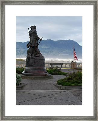 Seaside Oregon Framed Print by Julie Bell