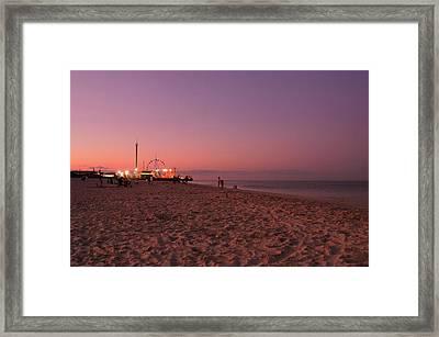 Seaside Park I - Jersey Shore Framed Print