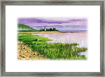 Seaside Park Framed Print