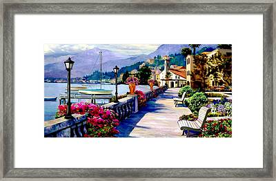 Seaside Pathway 2 Framed Print by Ron Chambers