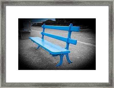 Seaside Resting Place Framed Print by Helen Northcott