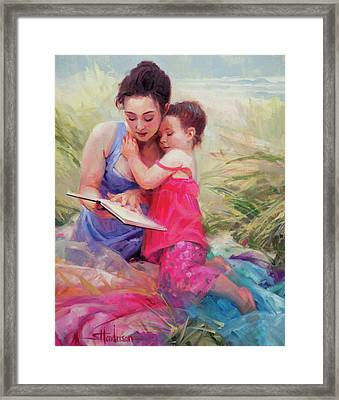 Seaside Story Framed Print