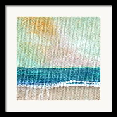 Seaside Mixed Media Framed Prints