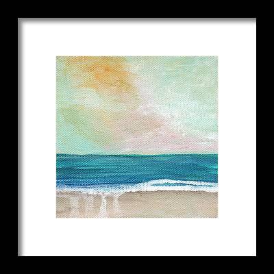 Ocean Sunset Framed Prints