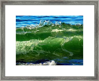 Seaside Symphony Framed Print by Dianne Cowen