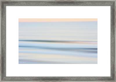 Seaside Waves  Framed Print