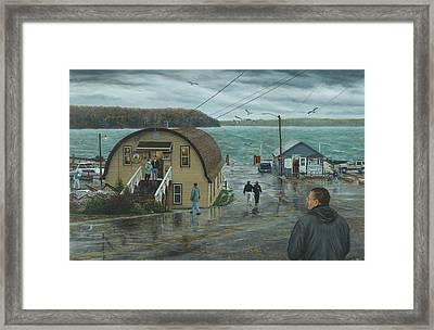 Season Reflection Framed Print