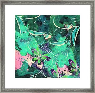 Seasonal Whimsy Framed Print