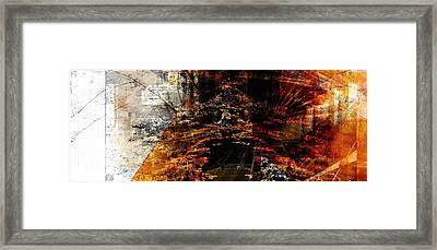 Seasons.. Framed Print