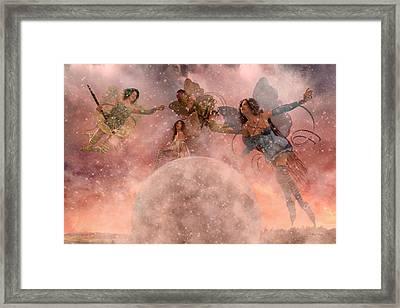 Seasons Framed Print by Betsy Knapp