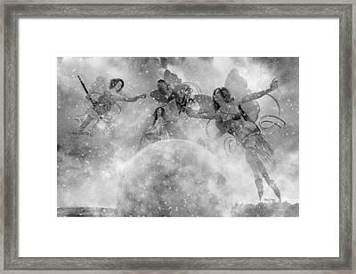Seasons Bw Framed Print