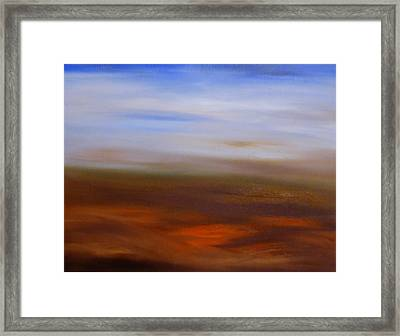 Seasons Changing Framed Print