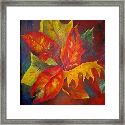 Seasons End Framed Print by Carolyn Saine