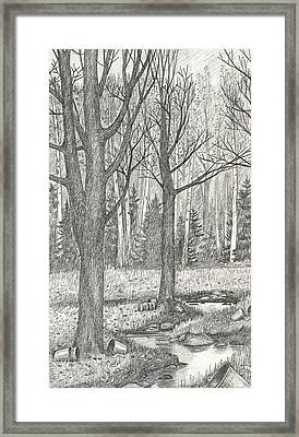 Seasons End Framed Print by Harry Moulton