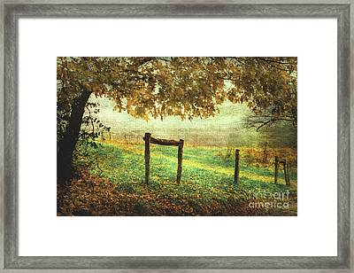 Seasons Ending Framed Print by Michael Eingle