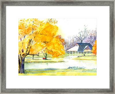 Season's Finale Framed Print by Robert Haeussler