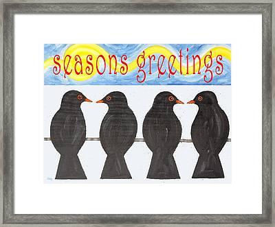 Seasons Greetings 109 Framed Print by Patrick J Murphy