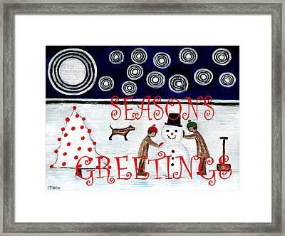 Seasons Greetings 14 Framed Print by Patrick J Murphy