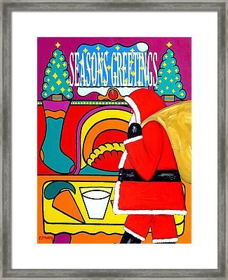 Seasons Greetings 16 Framed Print by Patrick J Murphy