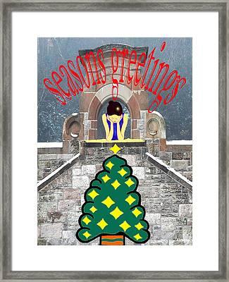 Seasons Greetings 17 Framed Print by Patrick J Murphy