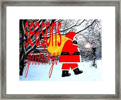Seasons Greetings 23 Framed Print by Patrick J Murphy