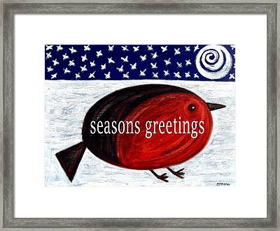 Seasons Greetings 4 Framed Print by Patrick J Murphy
