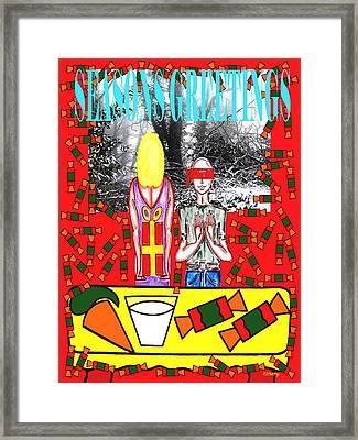 Seasons Greetings 61 Framed Print by Patrick J Murphy
