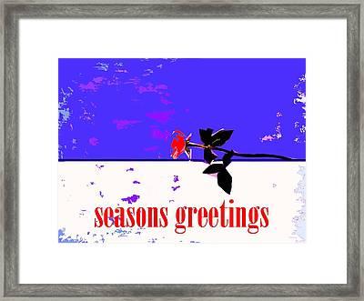 Seasons Greetings 66 Framed Print by Patrick J Murphy