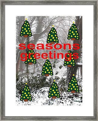 Seasons Greetings 8 Framed Print by Patrick J Murphy