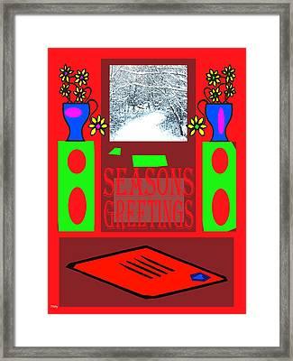 Seasons Greetings 97 Framed Print by Patrick J Murphy
