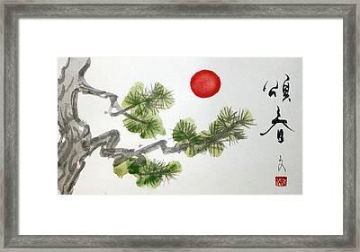 Season's Greetings Framed Print