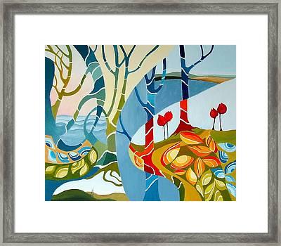 Seasons Of Creation Framed Print by Carola Ann-Margret Forsberg